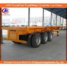 40ft Heavy Duty 3 Axle Skeletal Semi-Trailer for Container Transport.