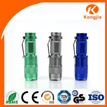 Производители Спорт Свет Горячие CREE Аккумуляторная горячий продавать Открытый мини светодиодный фонарик