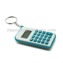 Colorful Mini Pocket Calculator with Keychain