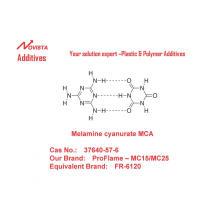 Melamine cyanurate MCA  (MC15/MC25)