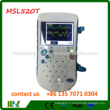 MSL520T Protable Handheld Bidirection / Unidirection Doppler vasculaire