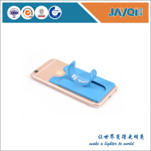 Silicone Mobile Phone Stand With Card Holder