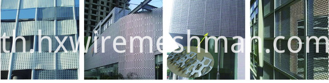punch metal mesh use