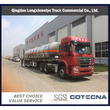 50cbm High Quality Aluminum Fule Tank Semi Trailer