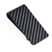 Carbon Fiber Business wallet Card holder Cash Holder