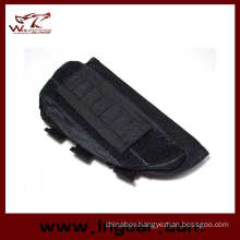 Tactical Airsoft Shotgun Rifle Ammo Pouch Cheek Pad Gun Bag Black