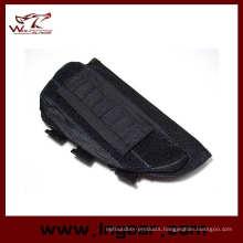 Tactical Airsoft Shotgun Rifle Ammo Pouch Cheek Pad Gun Bag
