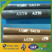 ASME SA335 P1 Tubo sem costura em liga de aço