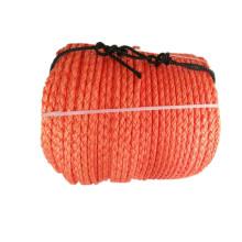 8 Strands Polysteel Rope  Orange Color