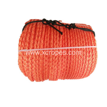 8 Strands Polysteel Rope  Orange Color