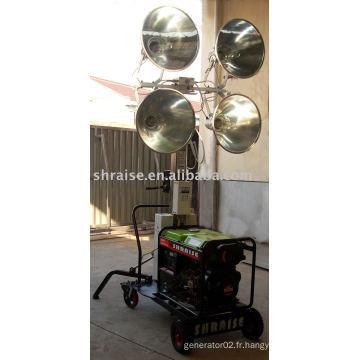 Tour d'éclairage RZ5GF-LEZMC (tour d'éclairage, tour d'éclairage mobile, tour d'éclairage portable)