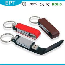 USB divertido más popular de cuero promocional con certificado