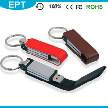 Promotional Most Popular Leather Funny USB with Certificate