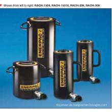 Rach Aluminium hohlen Kolben Zylinder einfachwirkend 700 Bar (RACH-202)
