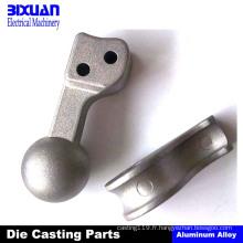 L'aluminium moulage mécanique sous pression partie des pièces de moulage de zinc
