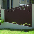 Laser Cut Metal Front Fence