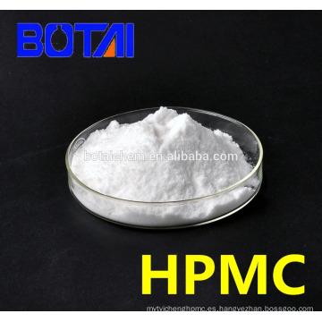 Hidroxipropil Metil Celulosa de alta viscosidad (HPMC) para grado de detergente de la industria