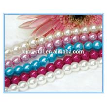 Multi cristal de color de la perla del filamento del cristal para el collar