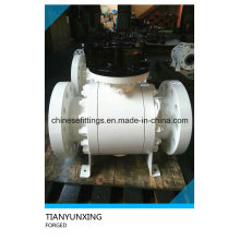 Forged Carbon Steel Flanged API 6D Ball Valve with CE