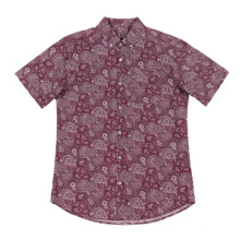 Men's Cotton Shirts Casual Paisley