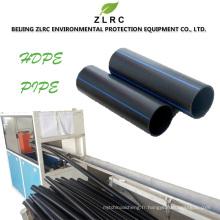 PE100 HDPE pour le tuyau d'HDPE d'approvisionnement en huile de gaz de l'eau