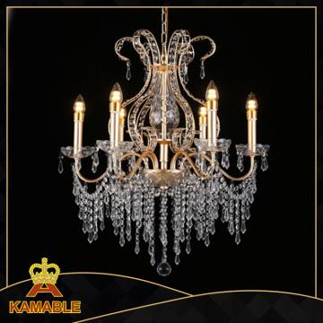 Nuevo Hotel Chandelise Carstal Iluminación (KA1509-L12)