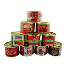 Pasta de tomate (tomate ketchup, molho de tomate 28-30%)