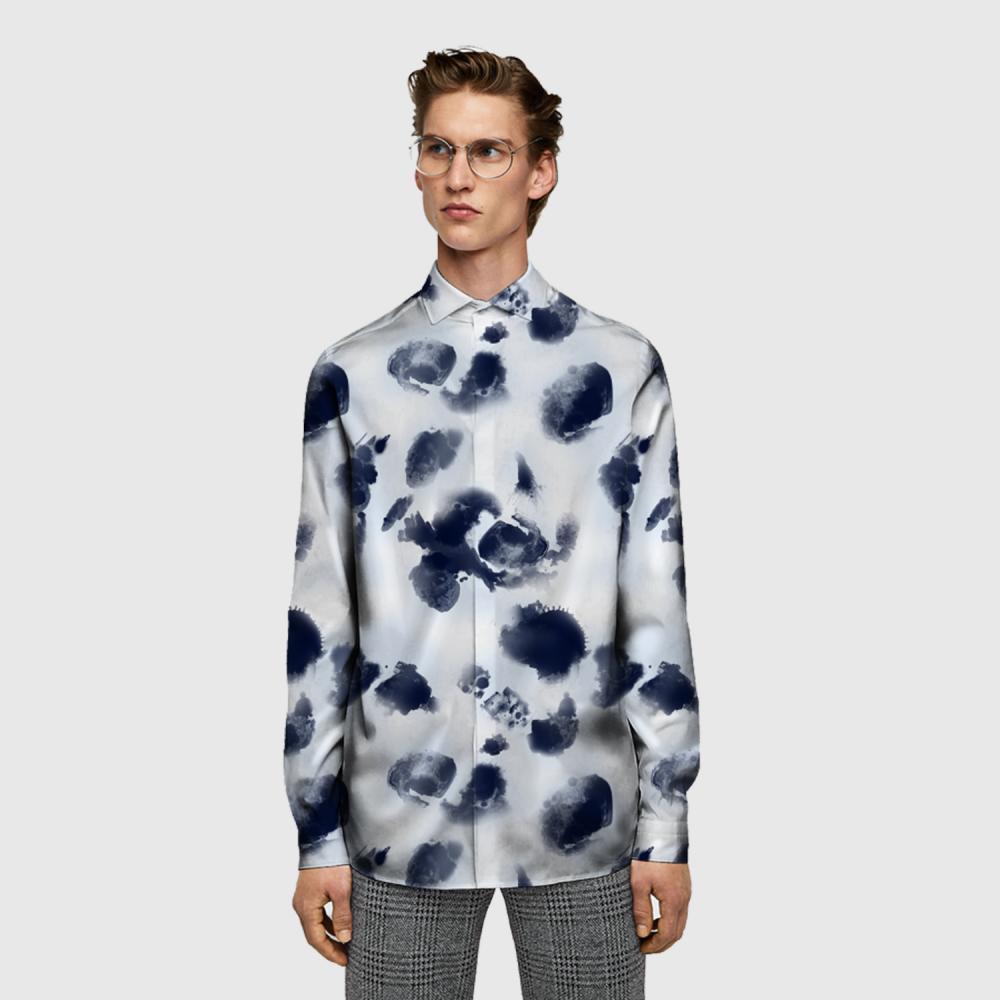 Digital Printing Fabric Shirt Fabric