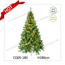 H4-10 FT Handmade Plastic Christmas Tree OEM Christmas Decorations LED Christmas Tree