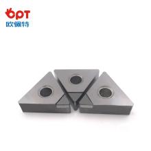 Outils d'alésage OPT Diamond Bit PCD pour pièces en aluminium TPGT TCMT