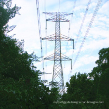 220 kV Single Circuit Winkel verzinkter Turm