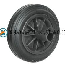 8 Inch Rubber Wheels for Garbage Bin Trash Can Ash Bin 200 X 50 Rubber Crumb Wheels
