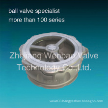 Wafer Type Stainess Steel Spring Loaded Lift Check Valve
