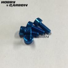 Colored M3 Aluminum Socket Cap Head Screws