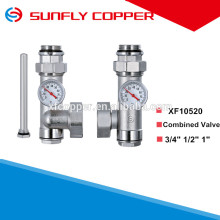 Combined valve