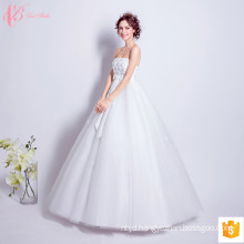 2017 Luxury Cheap Sexy Ball Gown Bowknot Wedding Dresses Made In China Off Shoulder