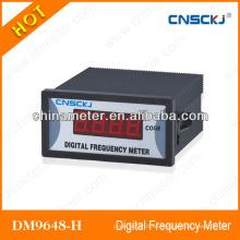 Relación CT / PT programable Medidor de factor de potencia monofásico 96 * 48mm