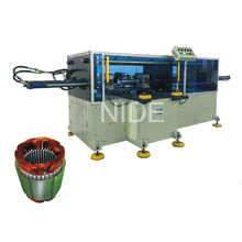 Horizontal Big Power Long Stack Length Stator Coil Forming Machine
