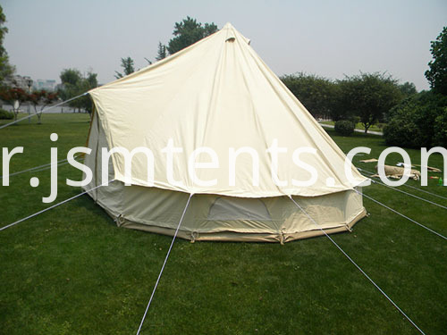 Bell Tents with double beds