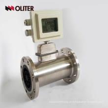 medidor de fluxo de massa de gás natural de gás butano propano alimentado por bateria