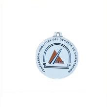 2018 nova chegada venda quente preço de fábrica de metal 25mm emblemas