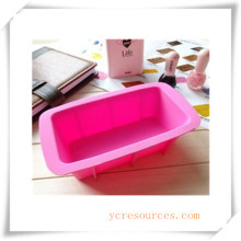 16 Cavity Oval Silicone Mold for Soap, Cake, Cupcake, Brownieand More (HA36014)