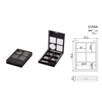 Elegant 4 Color Eyeshadow Case