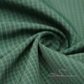 Wasser & Wind-resistent Mode Jacke Daunenjacke gewebt Plaid Jacquard 100% Polyester Sea-Island Filament Stoff (X045)