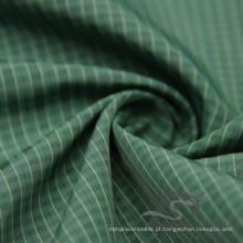Water & Wind-Resistant Jacket Moda Down Jaqueta tecida Plaid Jacquard 100% Poliéster Sea-Island tecido filamento (X045)