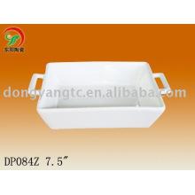 Placa de desierto de cerámica de 7.5 pulgadas