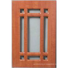 Porta de armário de cozinha do PVC (HLpvc-9)