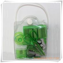 Set de papeterie de boîte de PVC pour le cadeau promotionnel (OI18017)