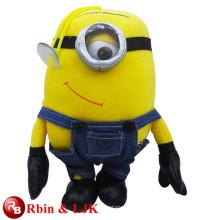 Meet EN71 and ASTM standard ICTI plush toy factory wholesale despicable me minion plush toy