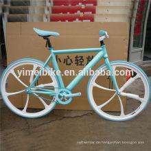 700c Freistil günstig Festrad Fahrrad in China hergestellt